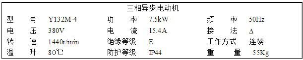 三相异步电动机的铭牌参数及选择