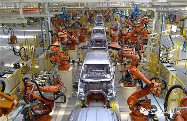 工业机器人应用最广的十大行业