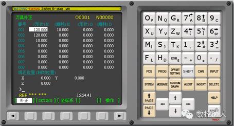 超级方便的FANUC系统特殊功能组合键