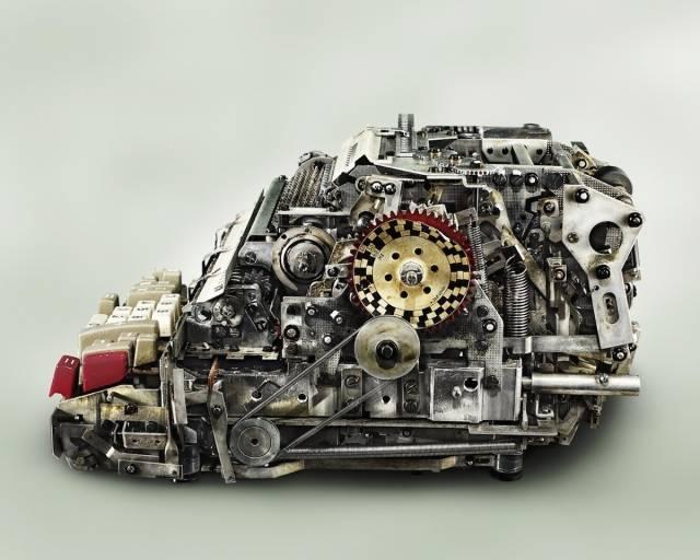 复杂程度10个人9个看不懂,打开一个逝去的机械时代