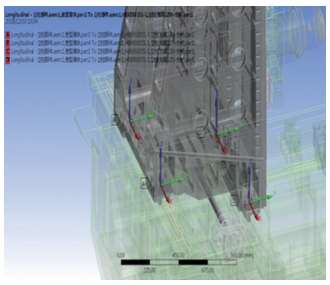 卧式加工中心立柱与滑块的联接刚度分析