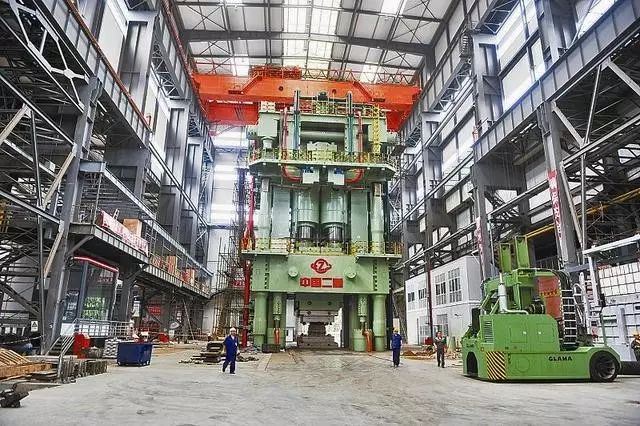 世界重装之王,8万吨级模锻液压机威力有多大?